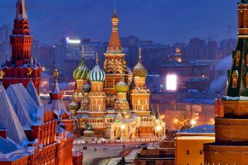La Piazza Rossa con S.Basilio, il cuore della maestosa Mosca